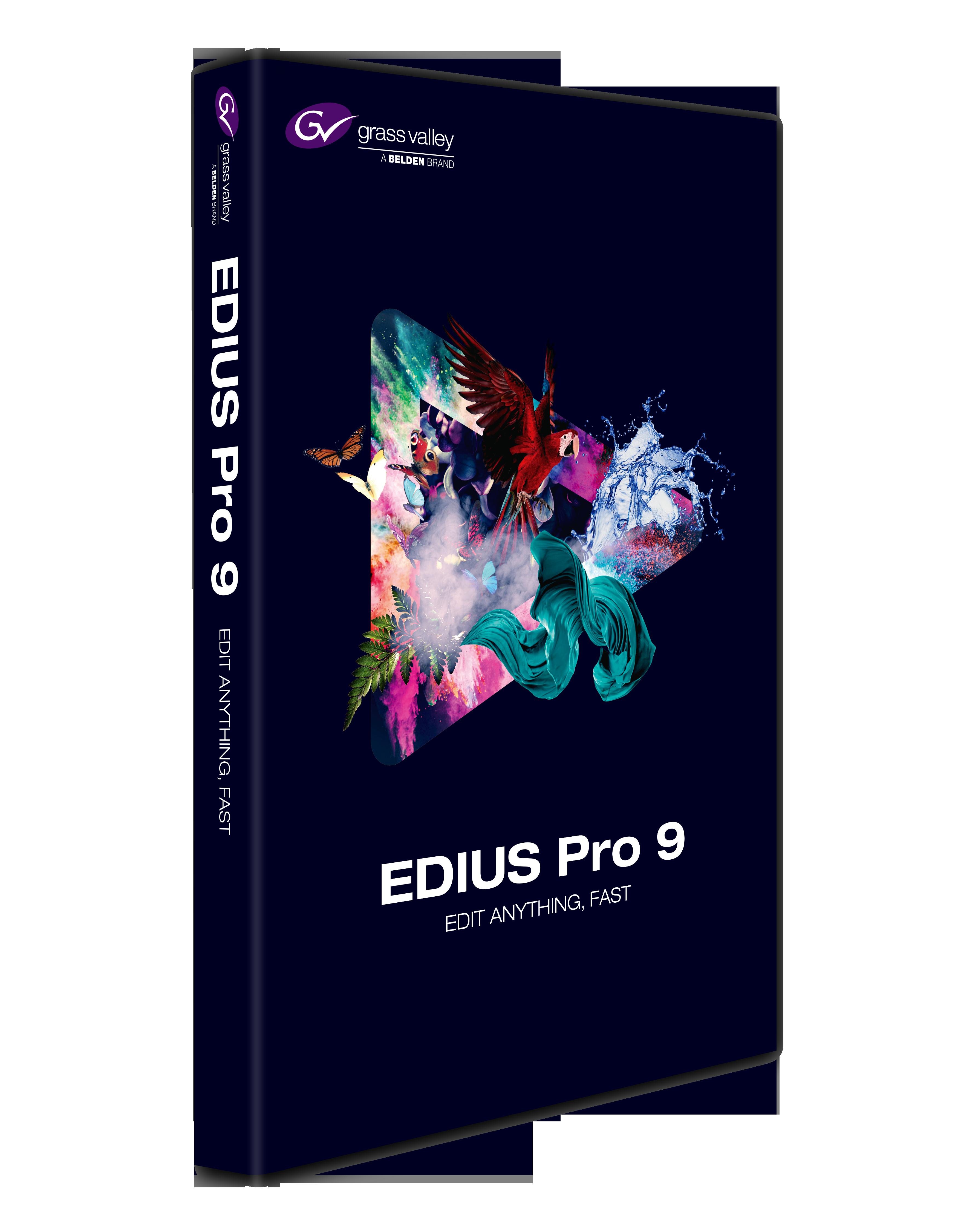 NEW in EDIUS 9 - EDIUS
