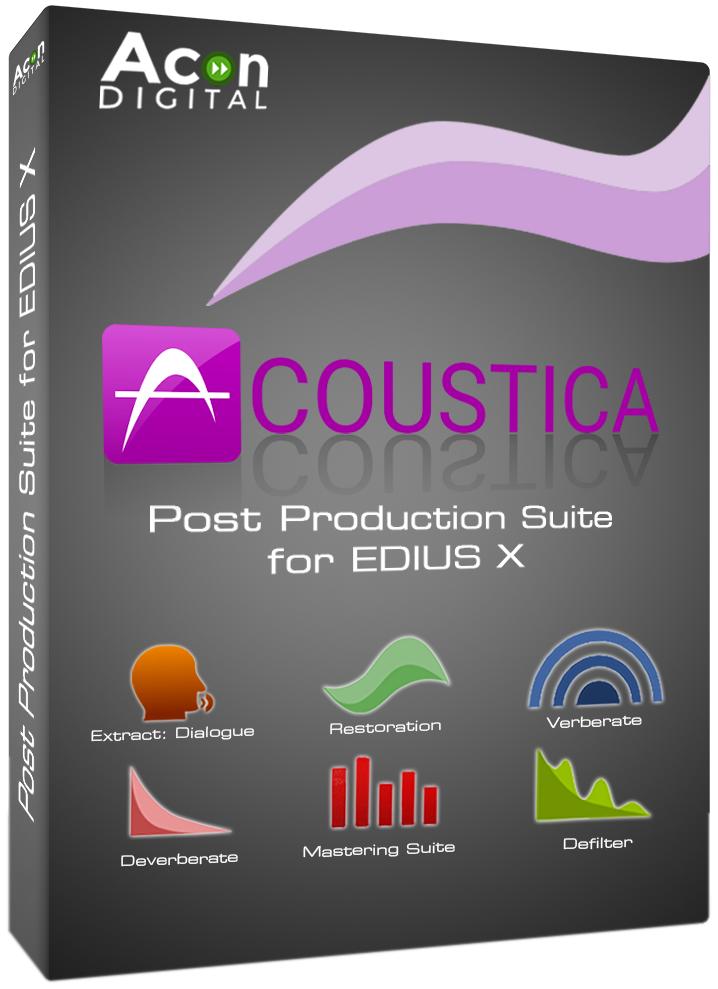 EDIUS X ACOUSTICA